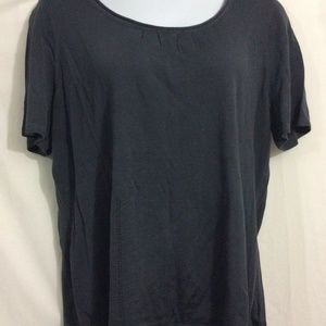 NEW Women Plus Sz 3X Pendleton Dark Gray Shirt top